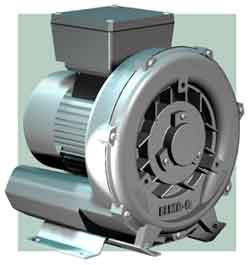 Small Direct Drive High Flow Vacuum Pump/Regenerative Blower