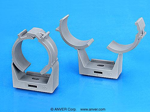 Plastic Hose Clamps >> CLAMP-P Adjustable Plastic Component Mounts