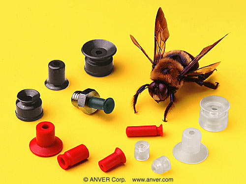 Anver Miniature Suction Cups Handle Delicate Parts Without