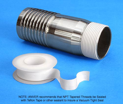 Vacuum Fitting Conversions Standard Sizes For Threads