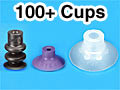 Small Vacuum Suction Cups (3mm - 20 mm)