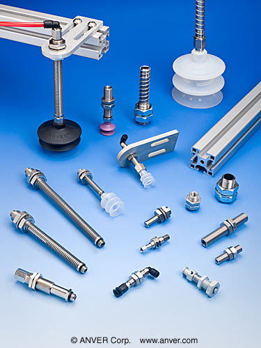 Suction Cup Suspensions Fittings And Brackets For Vacuum