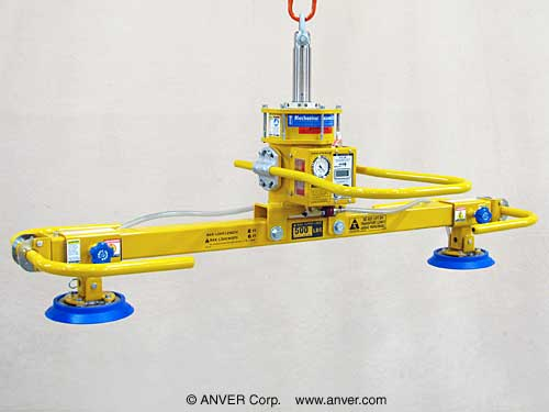 ANVER Two Pad Self-Powered Mechanical Vacuum Lifter