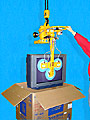 ANVER Vacuum Lifter Handles Televisions In and Out of Boxes