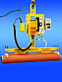 ANVER Powered Vacuum Lifter Safely Handles Rubber Covered Rolls