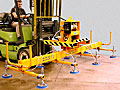 ANVER Fork Truck Vacuum Lifter Self-Contained Unit Fits Over Forks