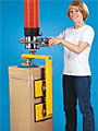 ANVER Vacuum Tube Lifter Grips Objects from the Side