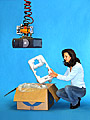 ANVER Vacuum Lifter Lets One Person Pack Boxes