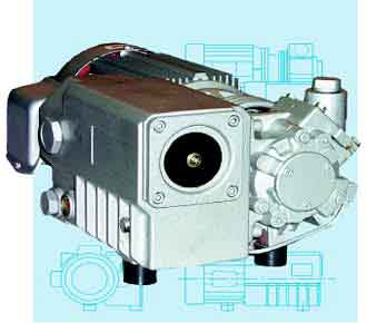 Busch Vacuum Pump Replacements, Rotary Vane Oil Lubricated Vacuum Pumps: AFM12 and AFM21 Series