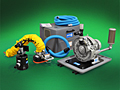 Replacement parts for all brands of Vacuum Tube Lifters: Vacuum Pumps, Vacuum Hose, Vacuum Lift Tubes, Vacuum Attachments