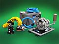 Replacement parts for all brands of Vacuum Tube Lifters: Vacuum Pumps, Vacuum Hose, Vacuum Lift Tubes, Vacuum Attachments