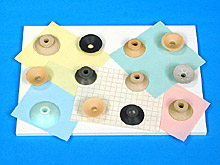 ANVER Flange Mount Series Suction Cups for Paper and Light Cardboard
