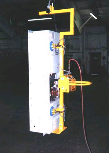 Air Powered Vertical Vacuum Lifter with Special Lifting Beam