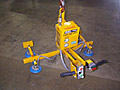 Four Pad Air Powered Vacuum Lifter with Powered Tilt and Air Balancer Integration