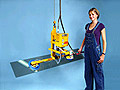 Air Balancer Vacuum Lifter and Tilter for Manipulating Glass Panes and Doors