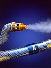 ANVER Air Operated Vacuum Pumps Evacuate Smoke and Transfer Materials