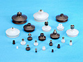 Single Bellows Vacuum Cups and Suction Cups