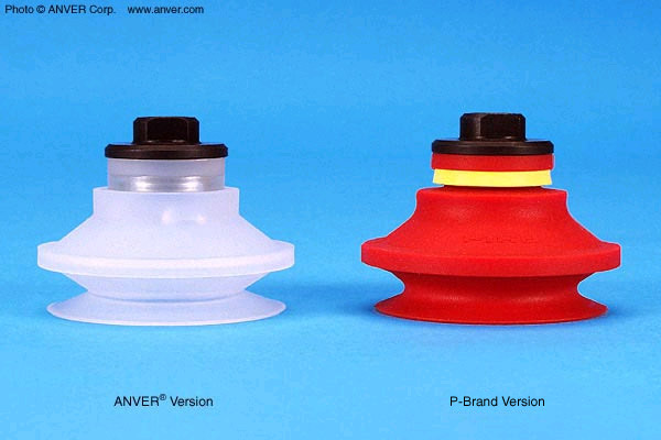 Comparison between P-Series Cups and Anver P-Series Style Clones