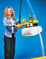 ANVER Integrated Vacuum Lifter for Emptying Bags