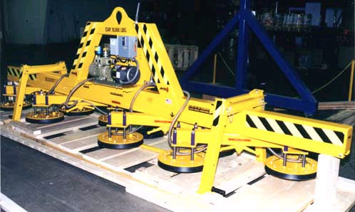 ANVER Eight Pad Electric Powered Vacuum Lifter