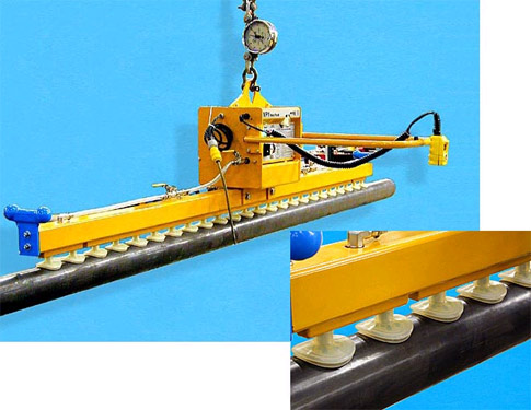 ANVER Twenty-Four Cup Electric Vacuum Lifter for Lifting of Pipe Sections