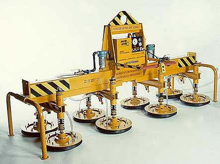 ANVER Eight Pad Electric Powered Heavy Duty Vacuum Lifter