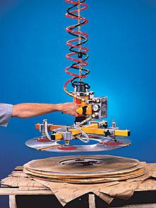 Hoist-based, non-weight sensitive VM system