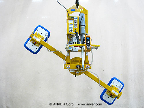 ANVER Electric Powered Vacuum Lifter with Tilting and Rotating Panels 10 ft x 6 ft (3.2 m x 1.8 m) weighing up to 1000 lb (454 kg)
