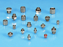 Fittings for ANVER Vacuum Cups, Suction Cups, P-Series Vacuum Suction Cups