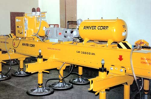ANVER Heavy Mill Duty Vacuum Lifter with Lifting Capacity of 30,000 lb