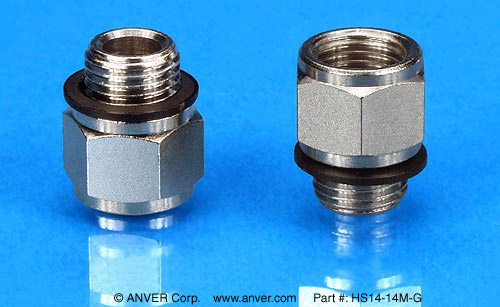 HS14-14M-G:  G to NPT Adapter