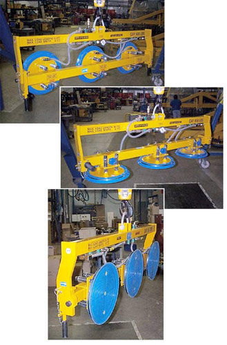 ANVER Vacuum Lifting Frame with Manual Gravity Tilt for 180 Degree Manipulation of Loads