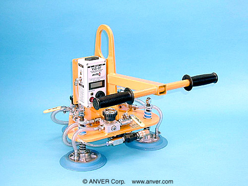 ANVER Three Pad Vacuum Lifting Beam