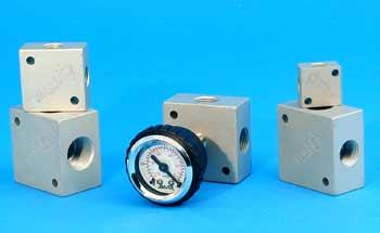 Vacuum Manifold Blocks for use with Vacuum Manifolds, Vacuum Pumps, Venturis, Vacuum Generators, Ejectors, Transfer Tubes, Air Flow Tube, Air Movers