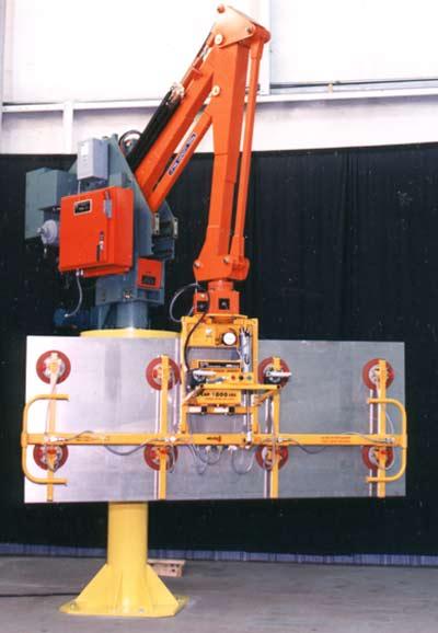 Manipulators For Lifting : Vacuum lifting manipulator