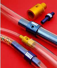ANVER Air Amplifiers and Vacuum Transfer Tubes for Maintenance Free Material Transfer