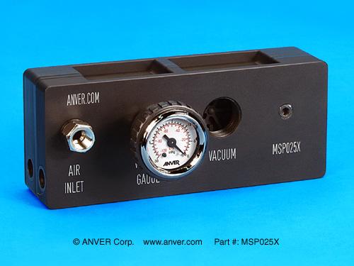 ANVER MSPX Series Multi-Stage Air Powered Vacuum Pumps