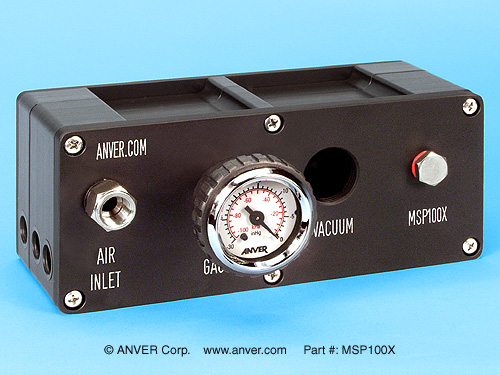 ANVER MSPX Series Multi-Stage Air Powered Vacuum Pumps