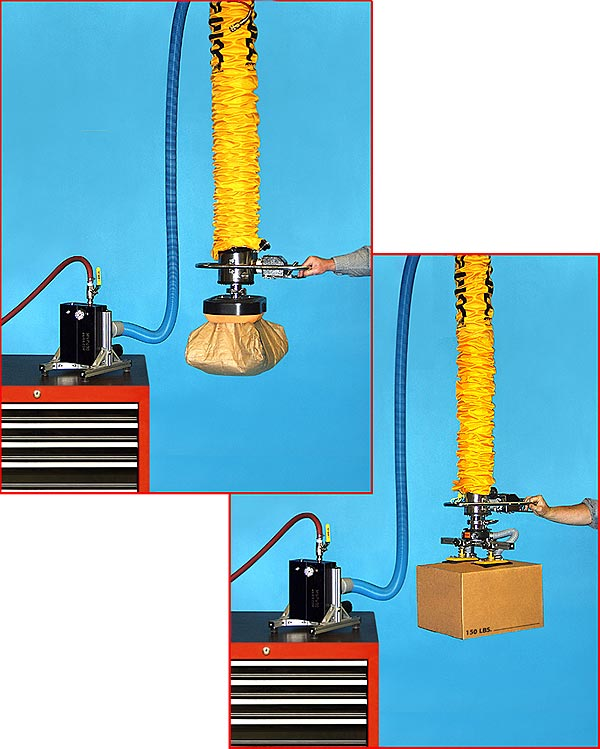 Compressed Air Powered Vacuum Tube Lifter