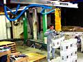Vacuum Tube Lifter for Palletizing 5-Gallon Pails of Paint