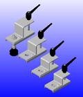 ANVER Adjustable Brackets For Various Suspension Rods