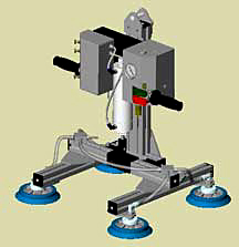 ANVER Integrated Air Balancer Vacuum Lifting System