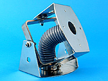 Universal swivel assembly for vacuum tube lifters