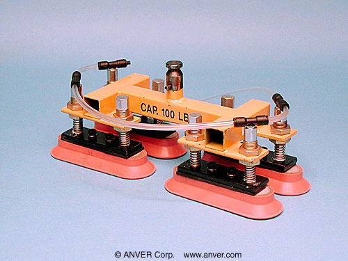 ANVER Four Pad Attachment for VM Systems with Oval Vacuum Cups