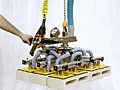 ANVER Hoist Integrated VB System with Custom 12 Pad Attachment