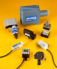 ANVER Vacuum and Pressure Switches Monitor all Vacuum System Requirements