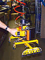 VM Vacuum-Hoist Lifting System with Custom Vacuum Pad Attachment with Multiple Oval Vacuum Cups