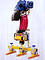 ANVER Air Powered Hoist Integrated System with Three Pad Attachment for Lifting Enclosures up to 250 lb (113 kg)