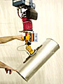 ANVER Hoist Integrated Vacuum System with Two Pad Attachment with Gravity Tilt