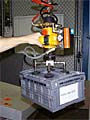 VM Vacuum-Hoist Lifting System with a Multiple Vacuum Cup Attachment for Lifting Bulky Objects
